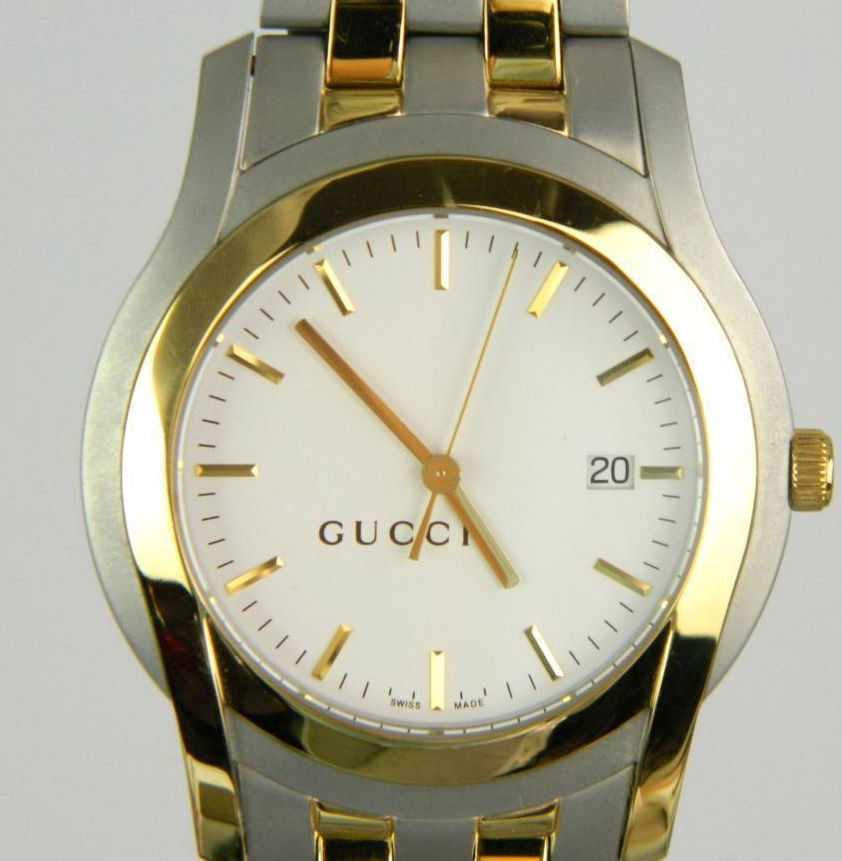 8b6db44d31c Authentic Gucci 5500 XL Quartz Unisex Watch in original box ...