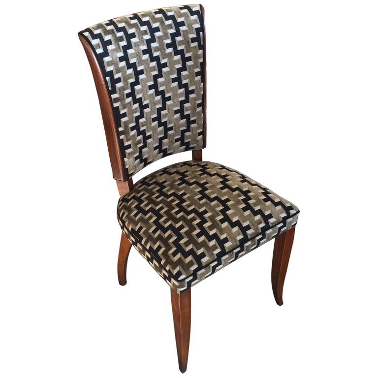 Set Of 6 Art Deco French Dining Chairs Artedeco Online Antiques