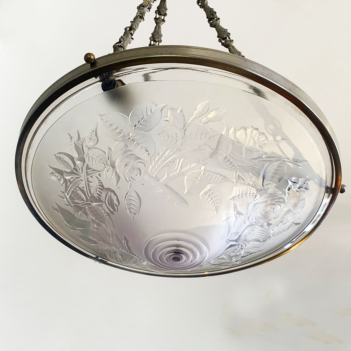 French Art Deco Ceiling Light Plafonnier By Maynadier Artedeco Online Antiques