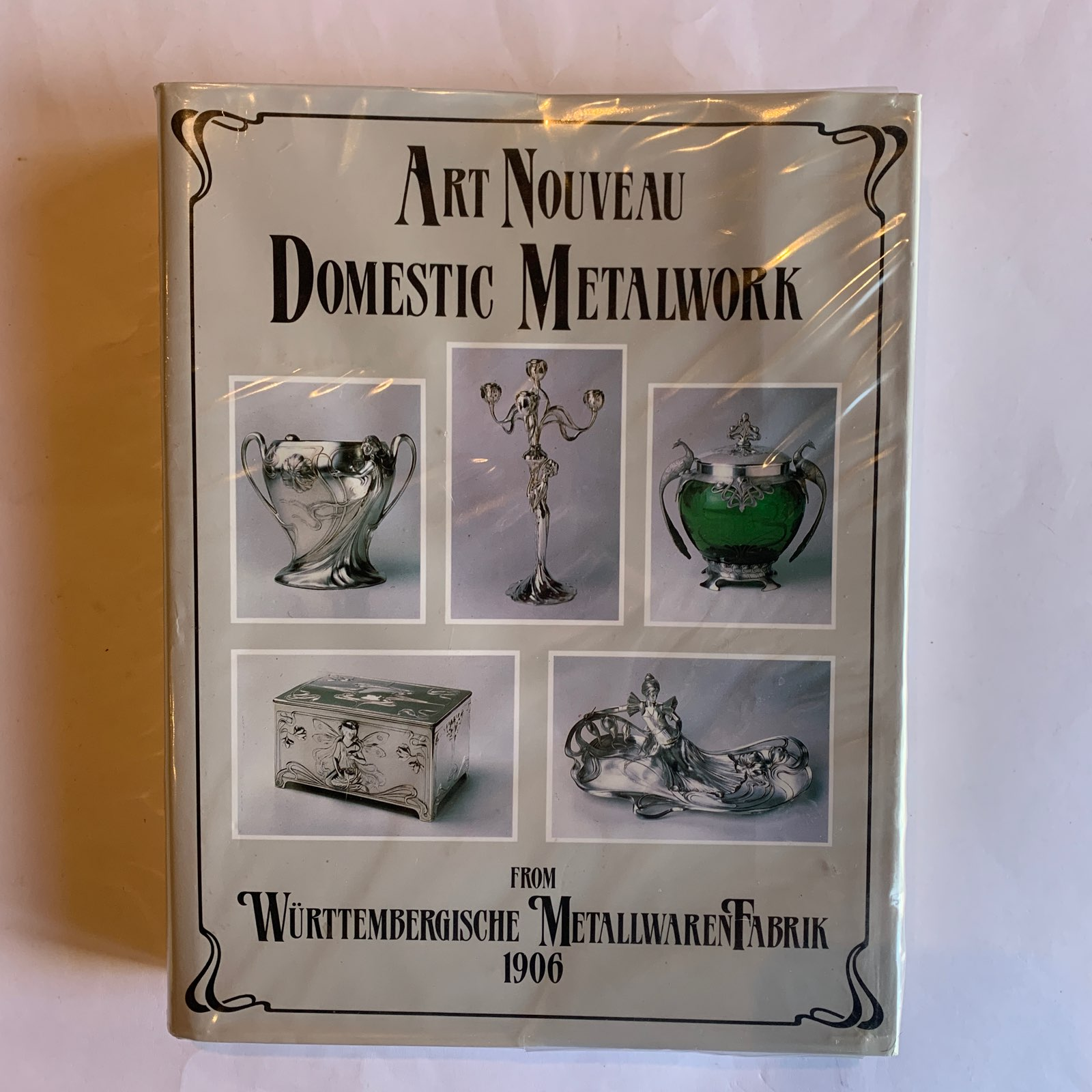 Book Art Nouveau Domestic Metalwork From Wmf Wurttembergische Metallwarenfabrik The English Catalogue 1906 Hardcover Artedeco Online Antiques